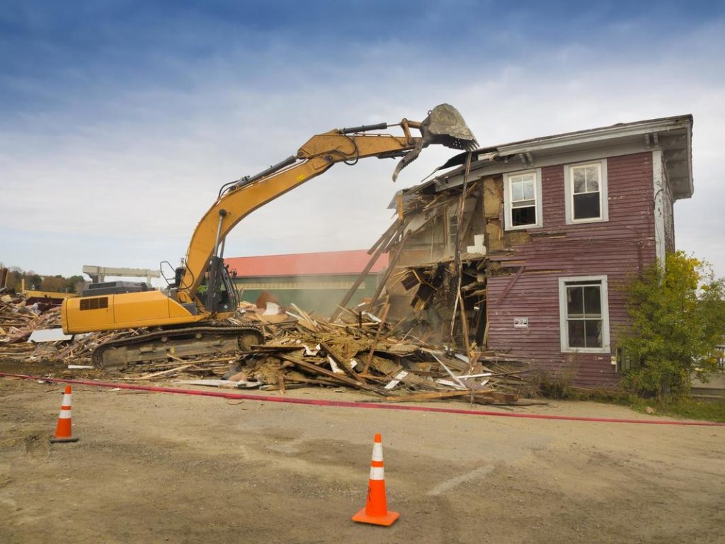 Residential Demolition in Burnaby, BC